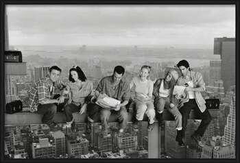 Friends - Lunch On A Skyscraper Kehystetty laminoitu juliste