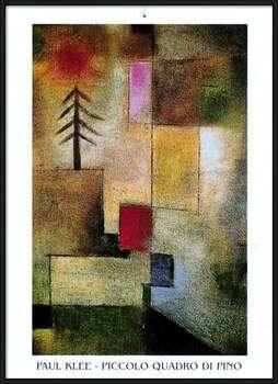 P.Klee - Piccolo Quadro Di Pino Kehystetty laminoitu juliste