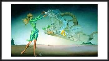Salvador Dalí – Mirage Kehystetty laminoitu juliste