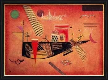 Wassily Kandinsky - Whimsical Kehystetty laminoitu juliste