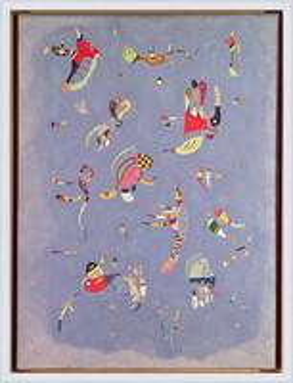 Wassily Kandinsky - Sky Blue Kehystetty laminoitu juliste
