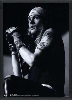 Kehystetty juliste Guns N Roses (Axl Rose) - Middletown, New York, August 1988