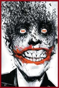Kehystetty juliste BATMAN Comic - Joker Bats
