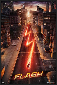 Kehystetty juliste The Flash - One Sheet