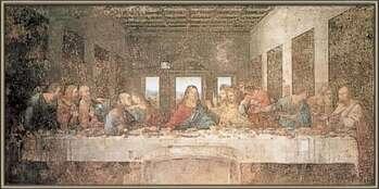 Kehystetty juliste The Last Supper