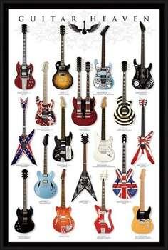 Kehystetty juliste Guitar heaven