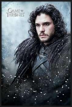 Kehystetty juliste Game of Thrones - Jon Snow