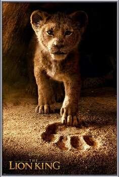 Kehystetty juliste The Lion King - Future King