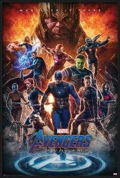 Kehystetty juliste Avengers: Endgame - Whatever It Takes