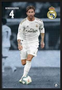 Kehystetty juliste Real Madrid 2019/2020 - Sergio Ramos