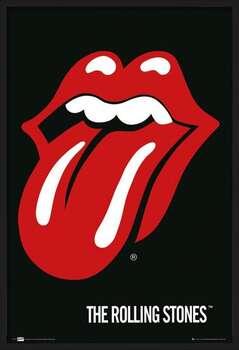 Kehystetty juliste the Rolling Stones - Lips