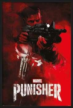 Kehystetty juliste The Punisher - Aim