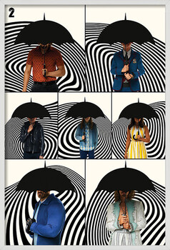 Kehystetty juliste The Umbrella Academy - Family