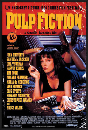 Juliste  PULP FICTION - cover