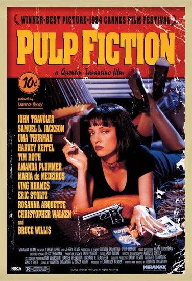 Juliste  PULP FICTION - cover