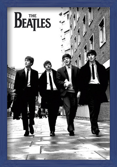 Juliste Beatles - in London