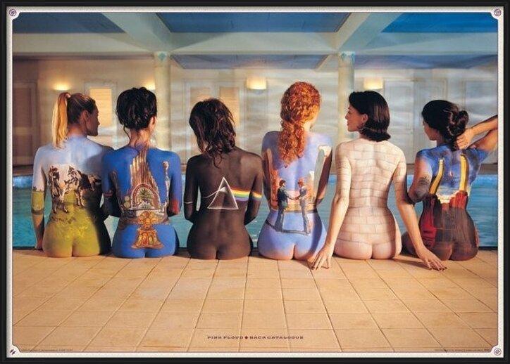 Juliste  Pink Floyd - back catalogue