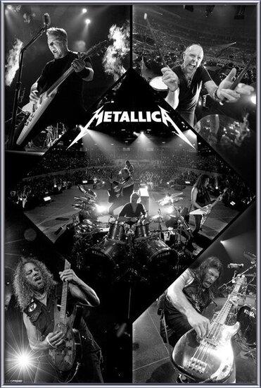 Juliste  Metallica - live