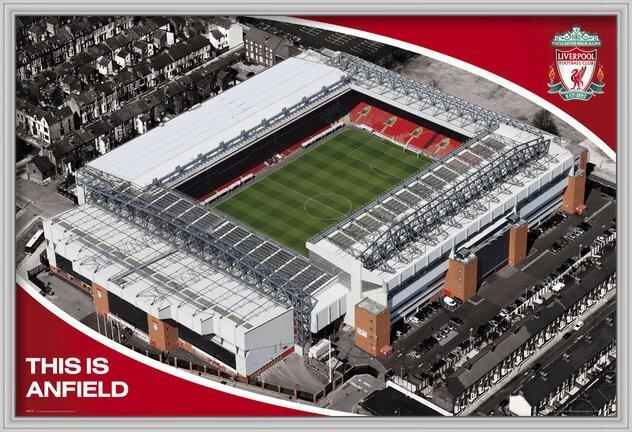 Juliste Liverpool - anfield