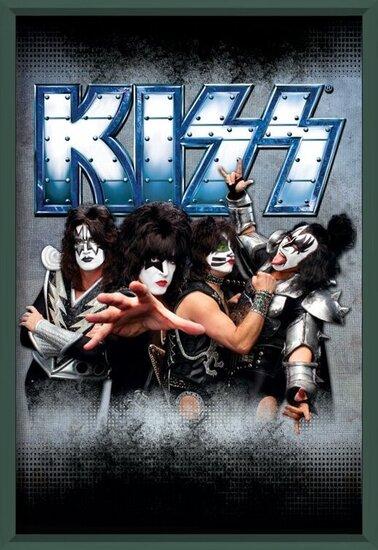 Juliste Kiss - monster