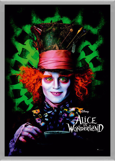 Juliste  ALICE IN WONDERLAND - mad hatter