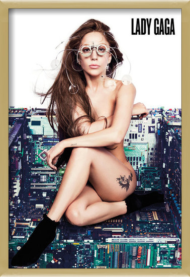 Juliste  Lady Gaga - chair