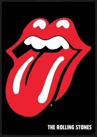 Juliste  Rolling Stones - lips