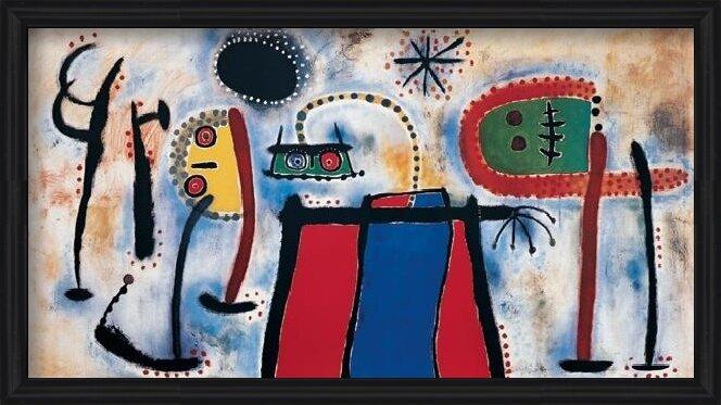 Painting, 1953 Taidejuliste