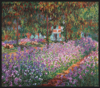 The Artist's Garden at Giverny, 1900 Taidejuliste