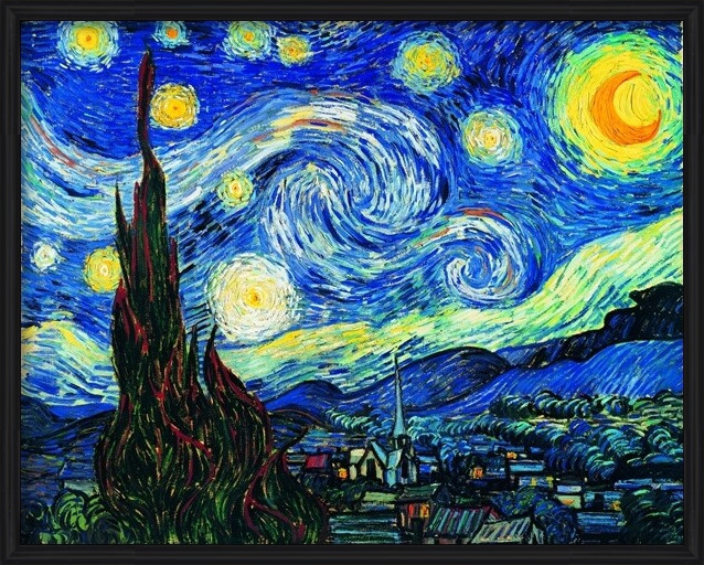 The Starry Night, 1889 Taidejuliste