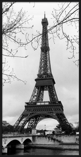 Pariisi - Eiffel tower Taidejuliste