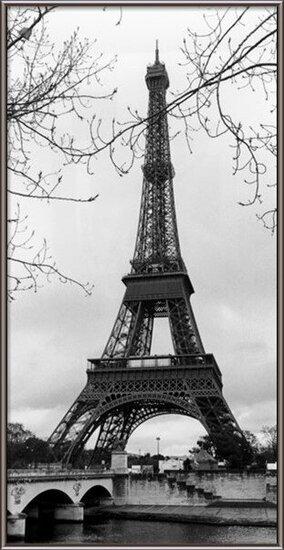 Pariisi - Eiffel tower Taidejuliste