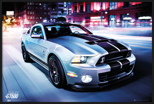 Juliste Ford Shelby - GT 500 (2014)