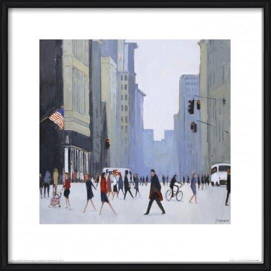 New York - 5th Avenue Taidejuliste