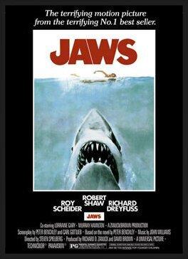 Juliste JAWS – movie poster