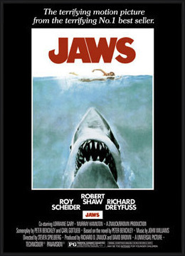Juliste JAWS – movie poster