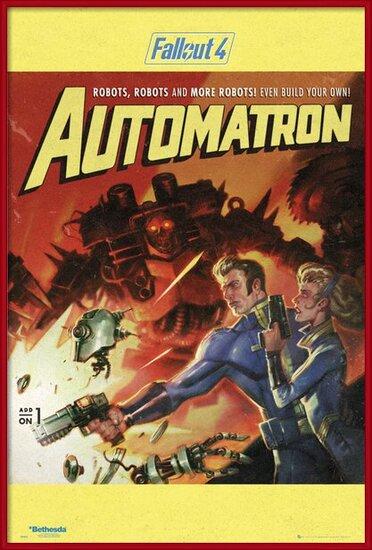 Juliste  Fallout 4 - Automatron