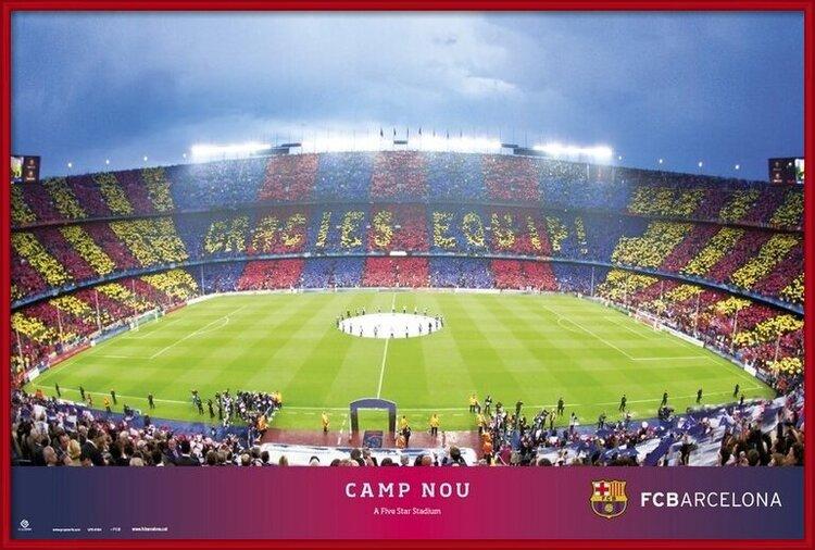 Juliste  FC Barcelona - Camp NOU