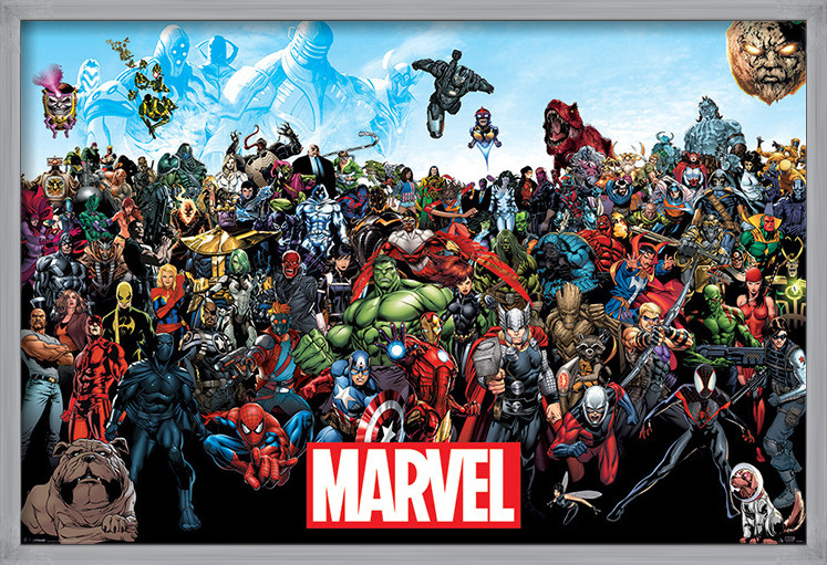 Juliste  Marvel - Universe