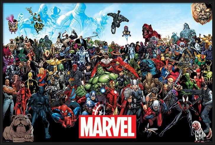Juliste  Marvel - Universe