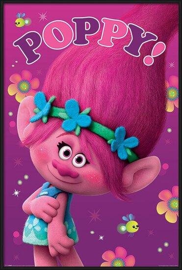 Juliste Trolls - Poppy