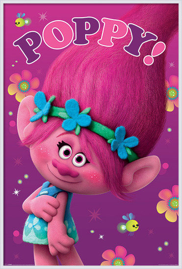 Juliste  Trolls - Poppy