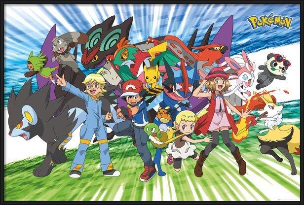 Juliste Pokemon - Traveling Party