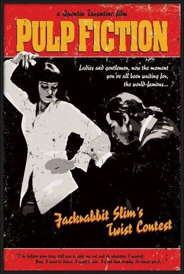 Juliste Pulp Fiction - Twist Contest