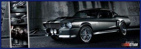 Juliste Easton - Shelby GT 500