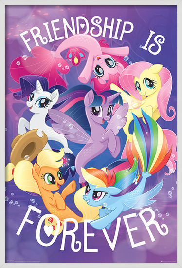 Juliste My Little Pony Movie - Friendship is Forever
