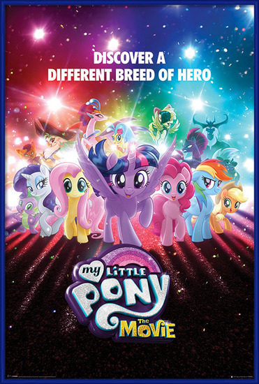 Juliste  My Little Pony Movie - A Different Breed of Hero