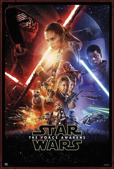 Juliste  Star Wars VII - One Sheet