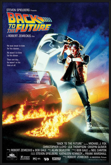 Juliste BACK TO THE FUTURE