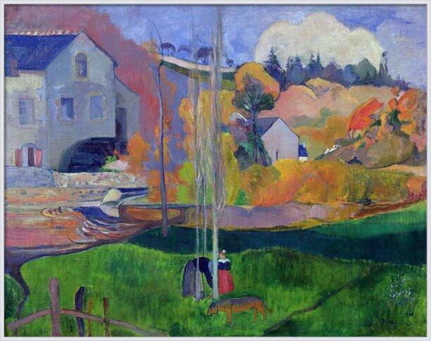 Brittany Landscape: the David Mill, 1894 Taidejuliste